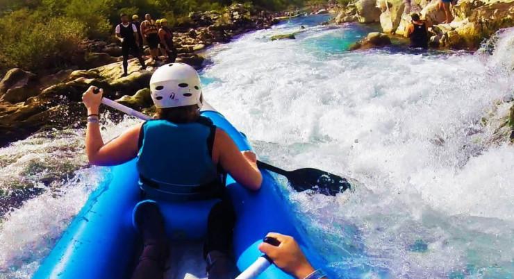 Canoeing Trebižat